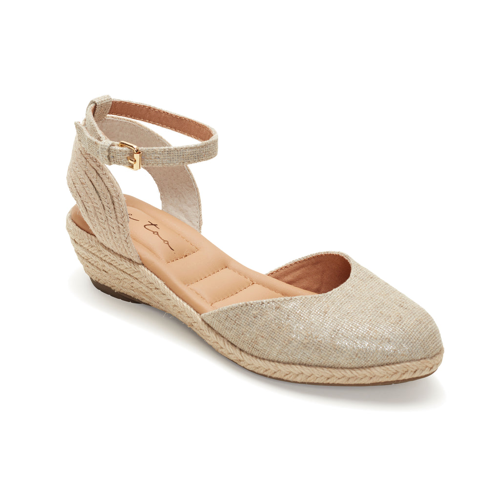 Norina Silver Canvas -  SANDAL - ...me Too