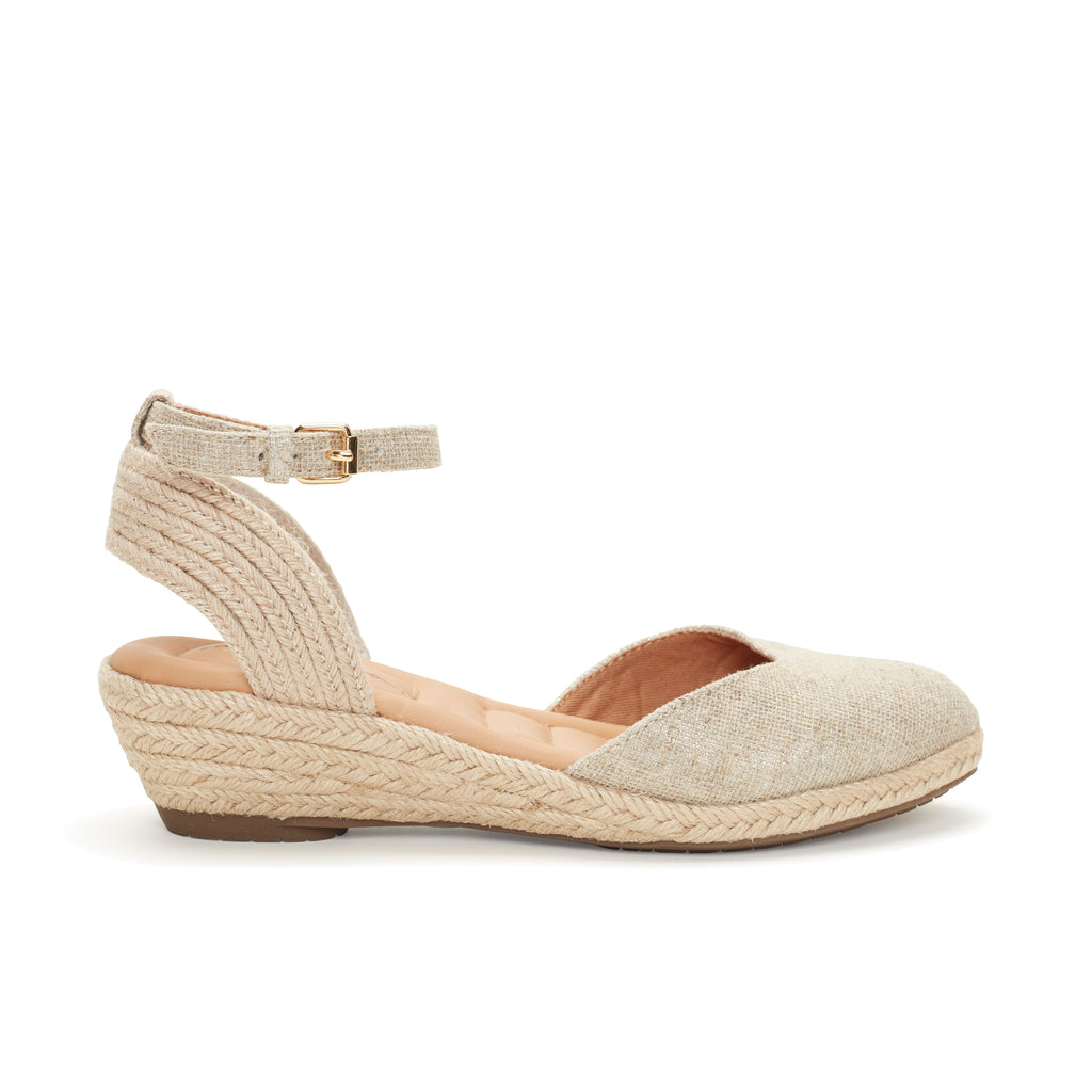 Norina Silver Canvas -  SANDAL - me too
