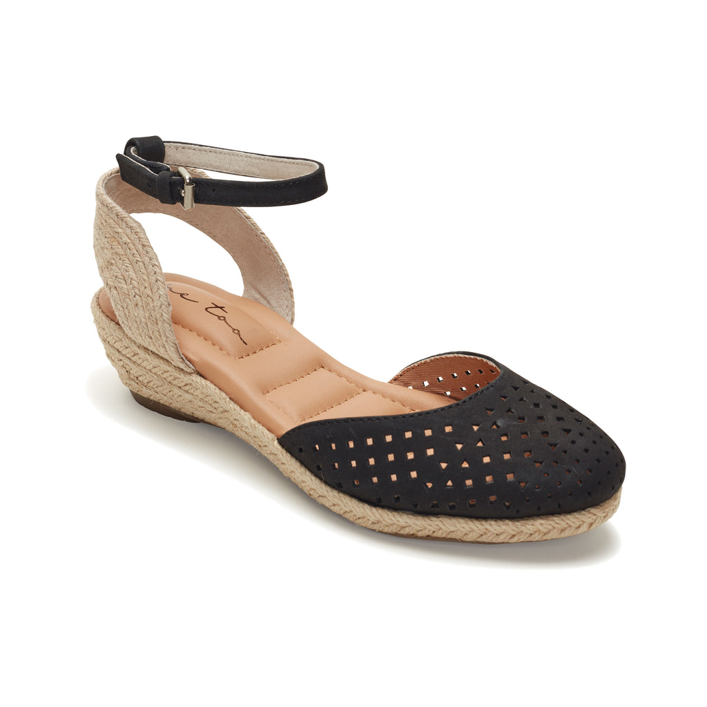 Norina Black Leather -  SANDAL - me too