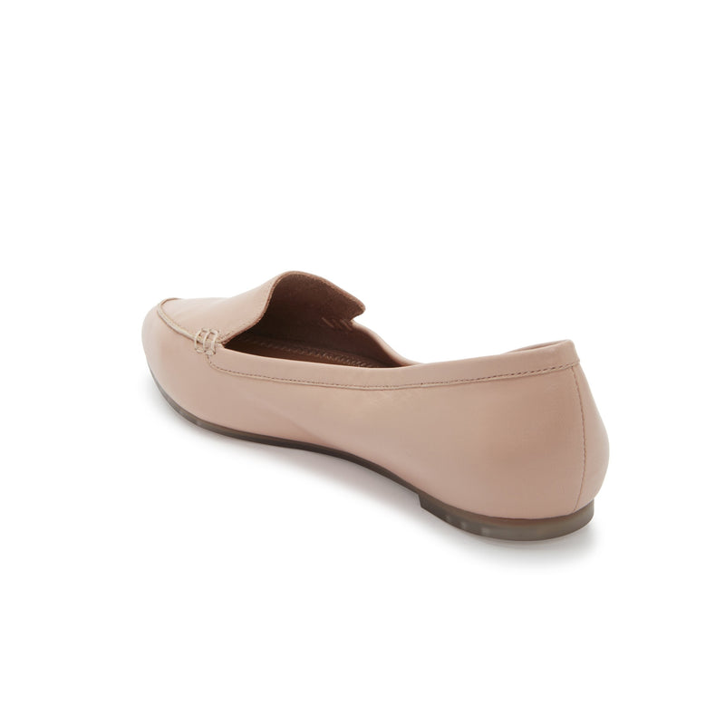 Audra Lt Nude Leather -  loafer - ...me Too