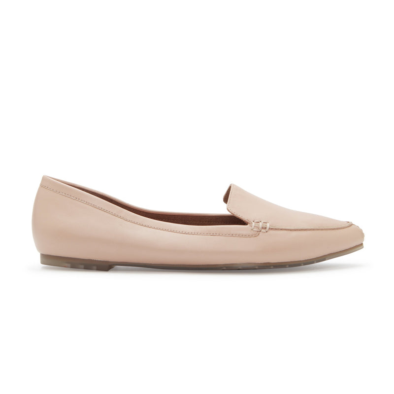 Audra Lt Nude Leather -  loafer - me too