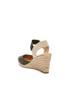 Bess Black Leather -  WEDGE - ...me Too