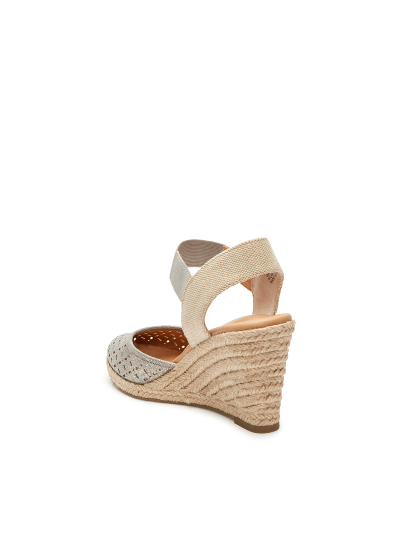 Bess Pewter Metallic -  WEDGE - ...me Too