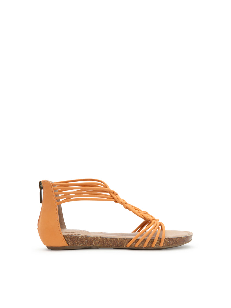 Cali Dusty Orange Leather -  SANDAL - Adam Tucker