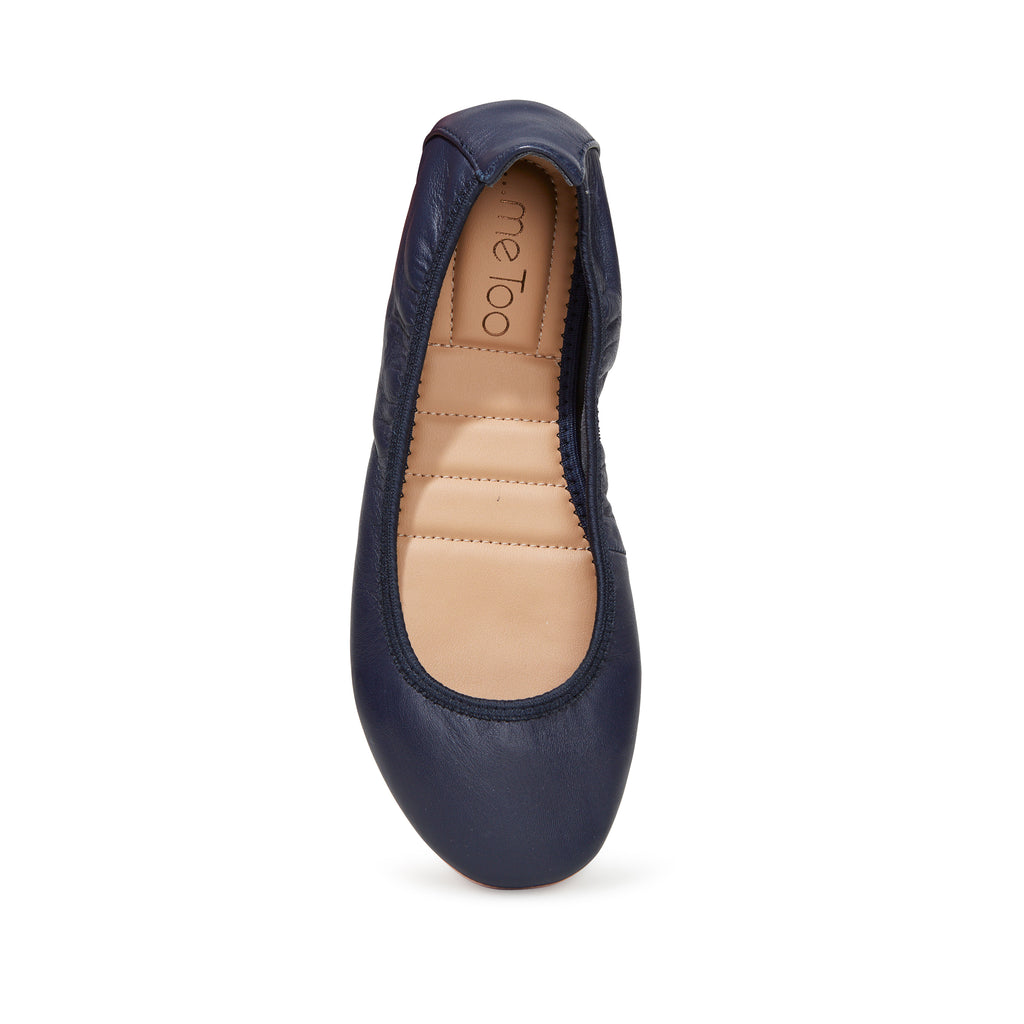 Tru Pnk Navy Leather -  FLAT - ...me Too