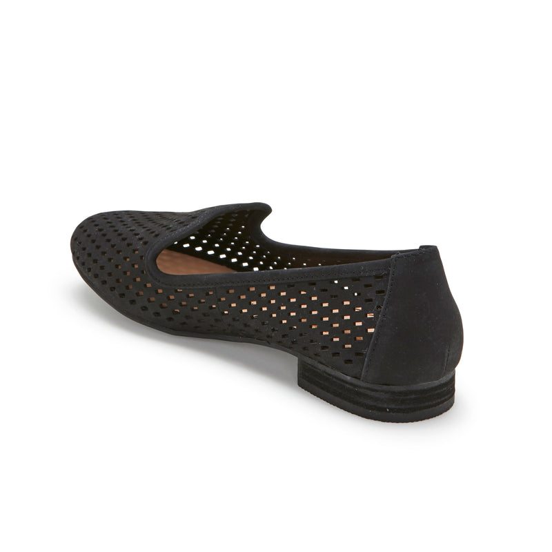Yane Black Leather -  Loafer - me too