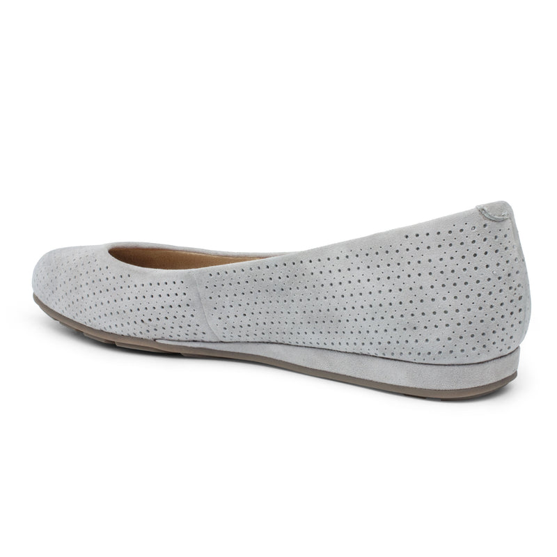 Alina Perforated Sliver Wedge Flat