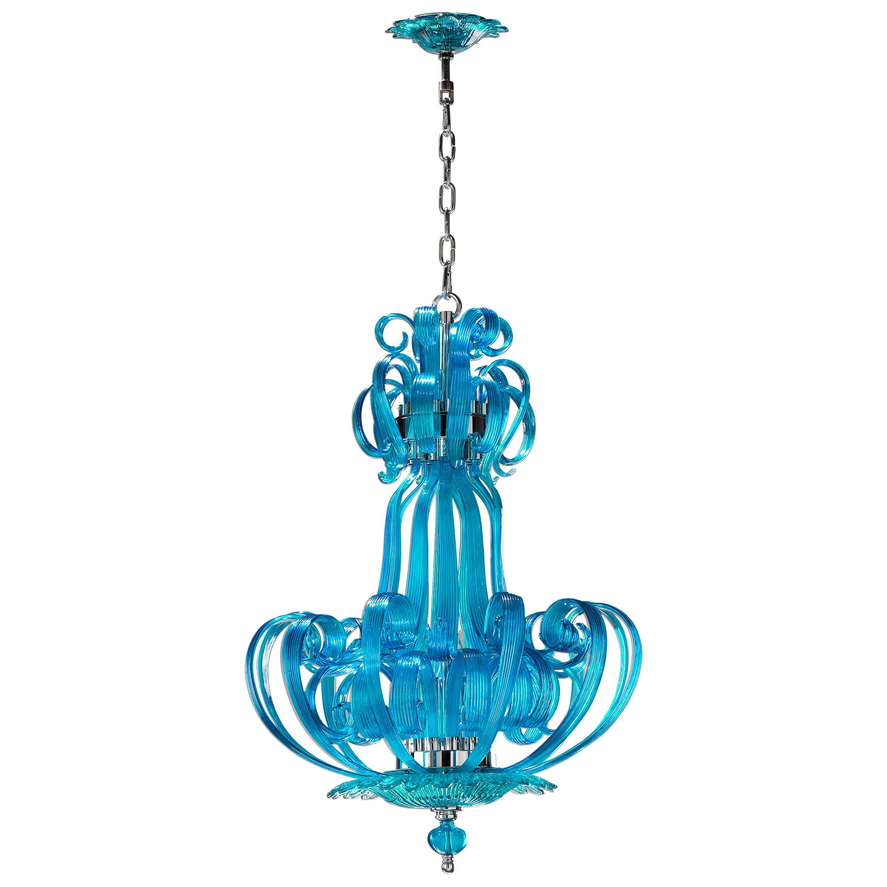 Aqua Florence Chandelier – edenLA Furniture & Interiors