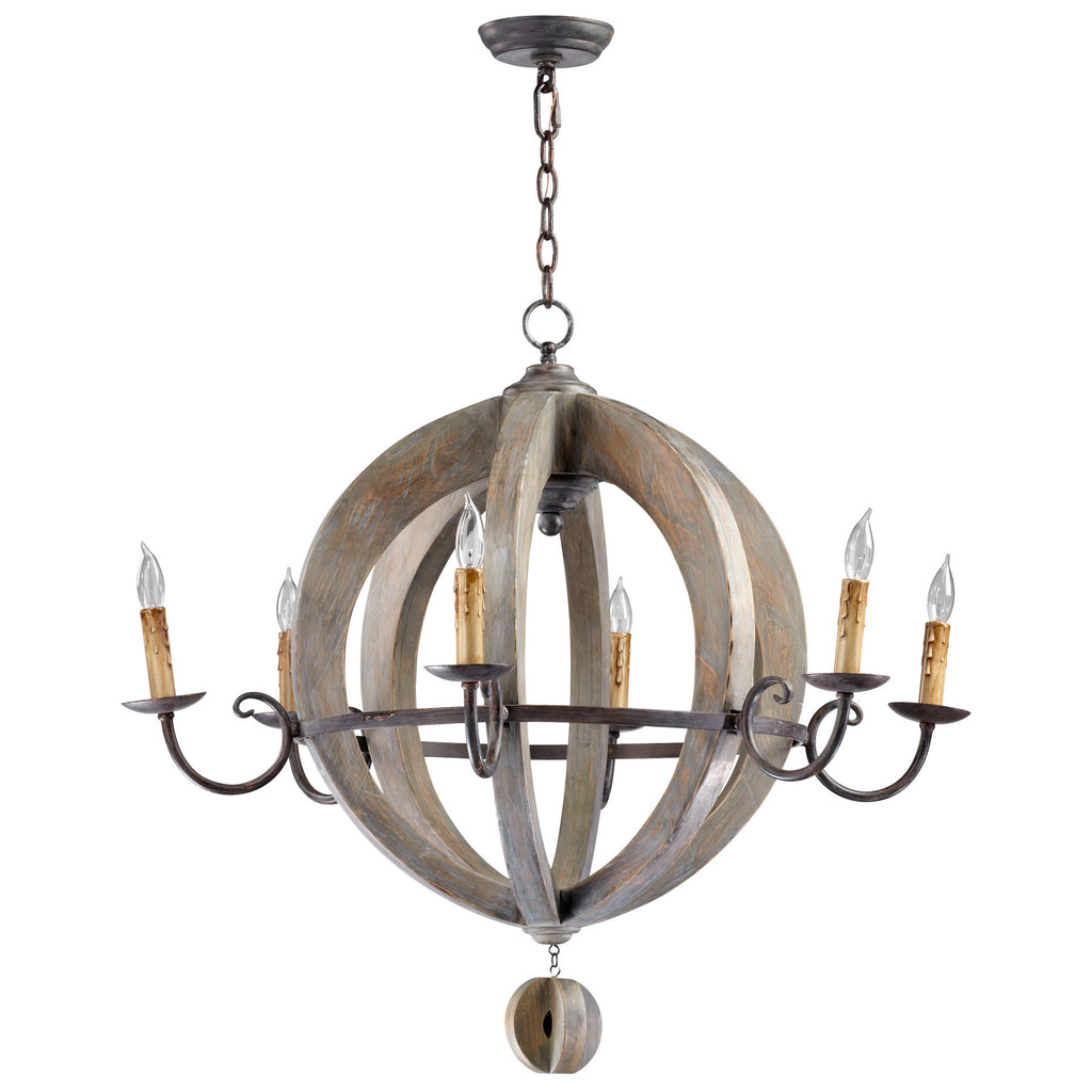 Barrel Chandelier
