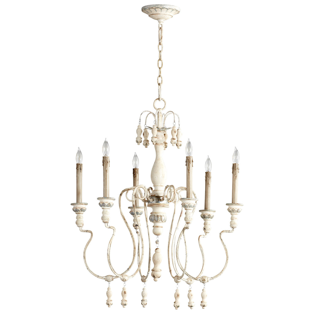 Chantal Six Light Chandelier