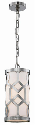 Jennings 1 Light Polished Nickel Pendant