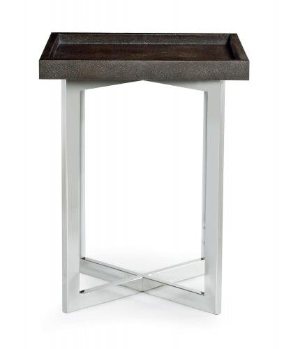 Stratton Metal Chairside Table