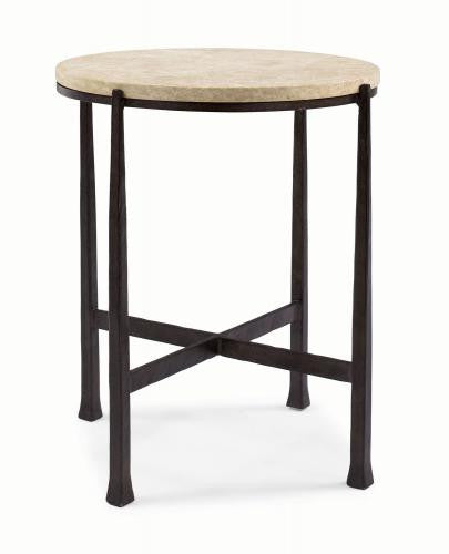 Duncan Round Metal Side Table