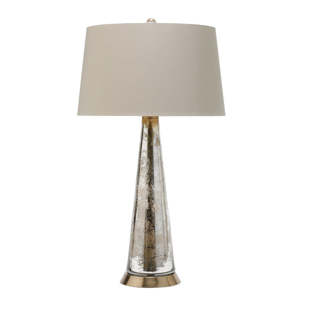 Silver Camel Lamp