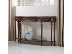 Sheridan Three Drawer Console Table