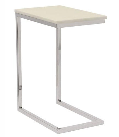 Marston Ivory Marble Pull Up Table