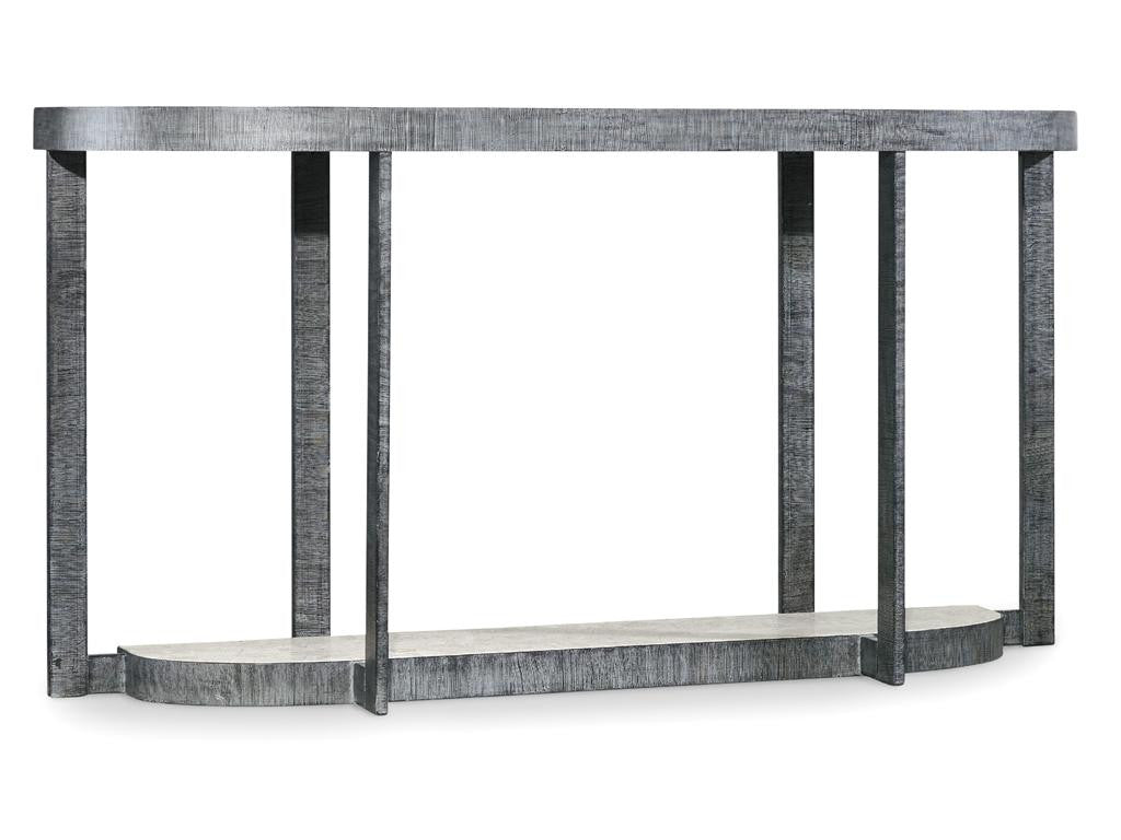Mill Valley Demilune Console Table