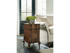 Archivist Accent Chairside Chest