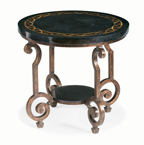 Connery Round End Table