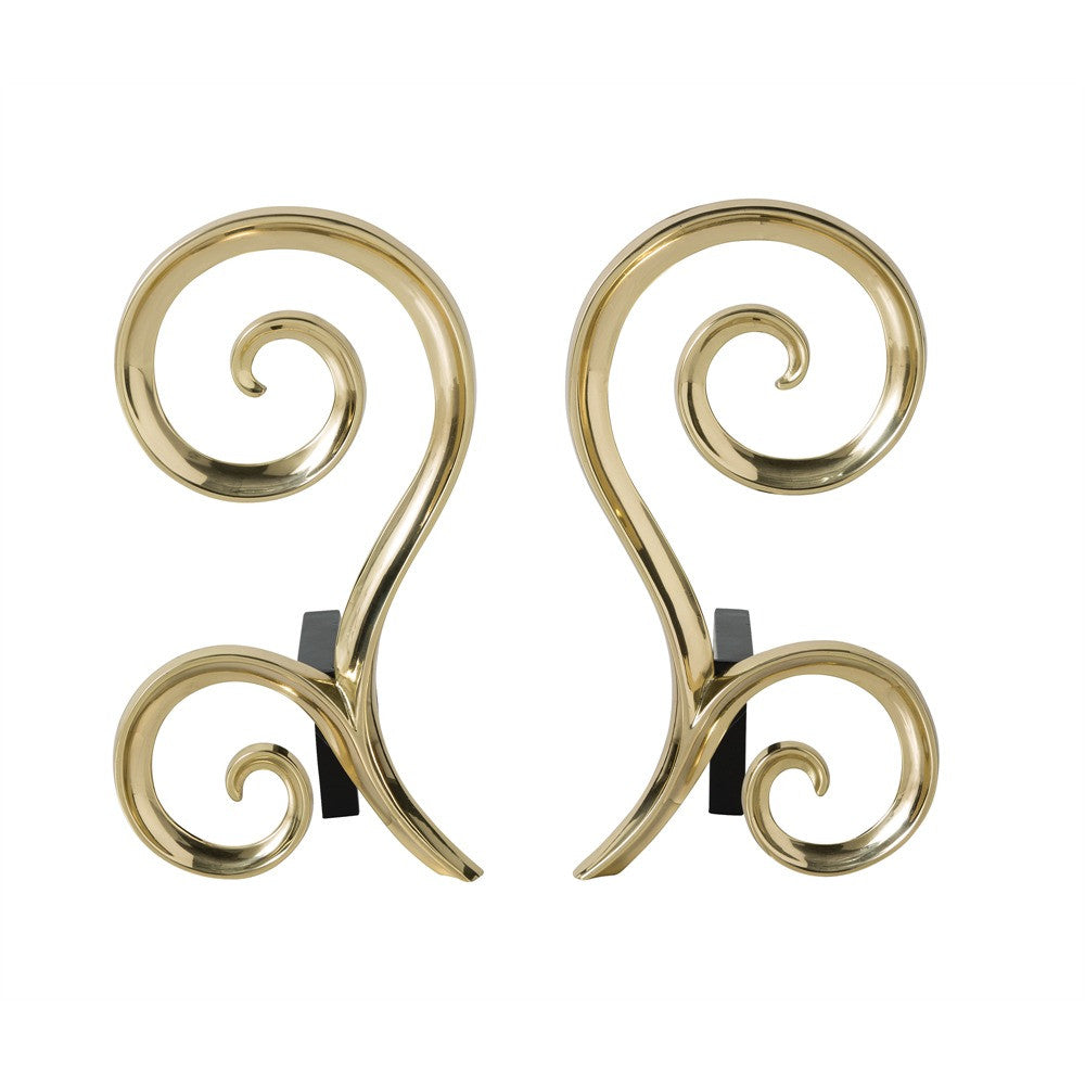 Libby Andirons, Set of 2