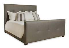 Derrick Tufted Bed with Footboard