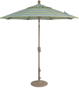7Ft. Umbrella With Aluminum Frame