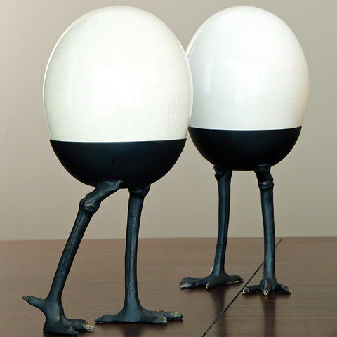 Ostrich Egg Walking