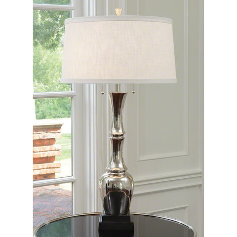 Bambooesque Lamp-Nickel