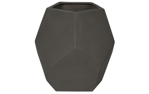 122 Ceramic Vase, Beton Finish