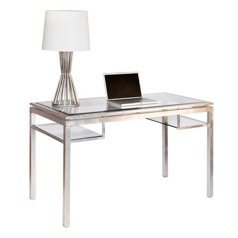 Brentwood Silver Desk