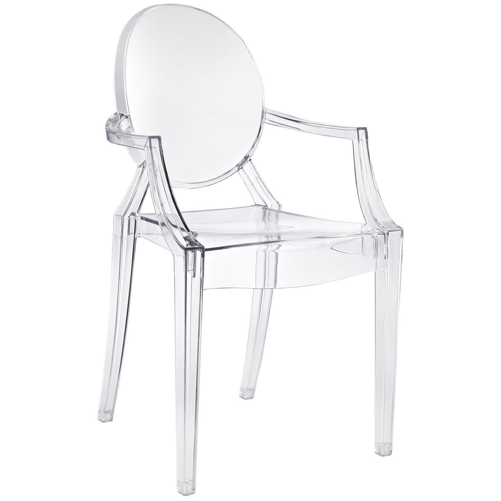 Casper Acrylic Clear Dining Chair