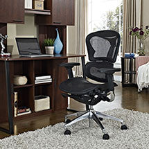 Lift Mid Back Office Chair in Black