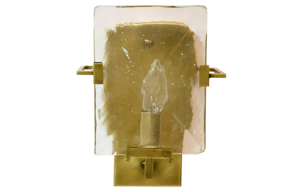 Krupp Sconce, Antique Brass Finish