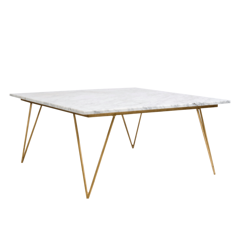 Neal Gold and WhiteCoffee Table