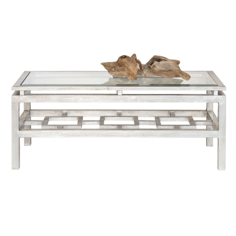 Pierre Silver Coffee Table
