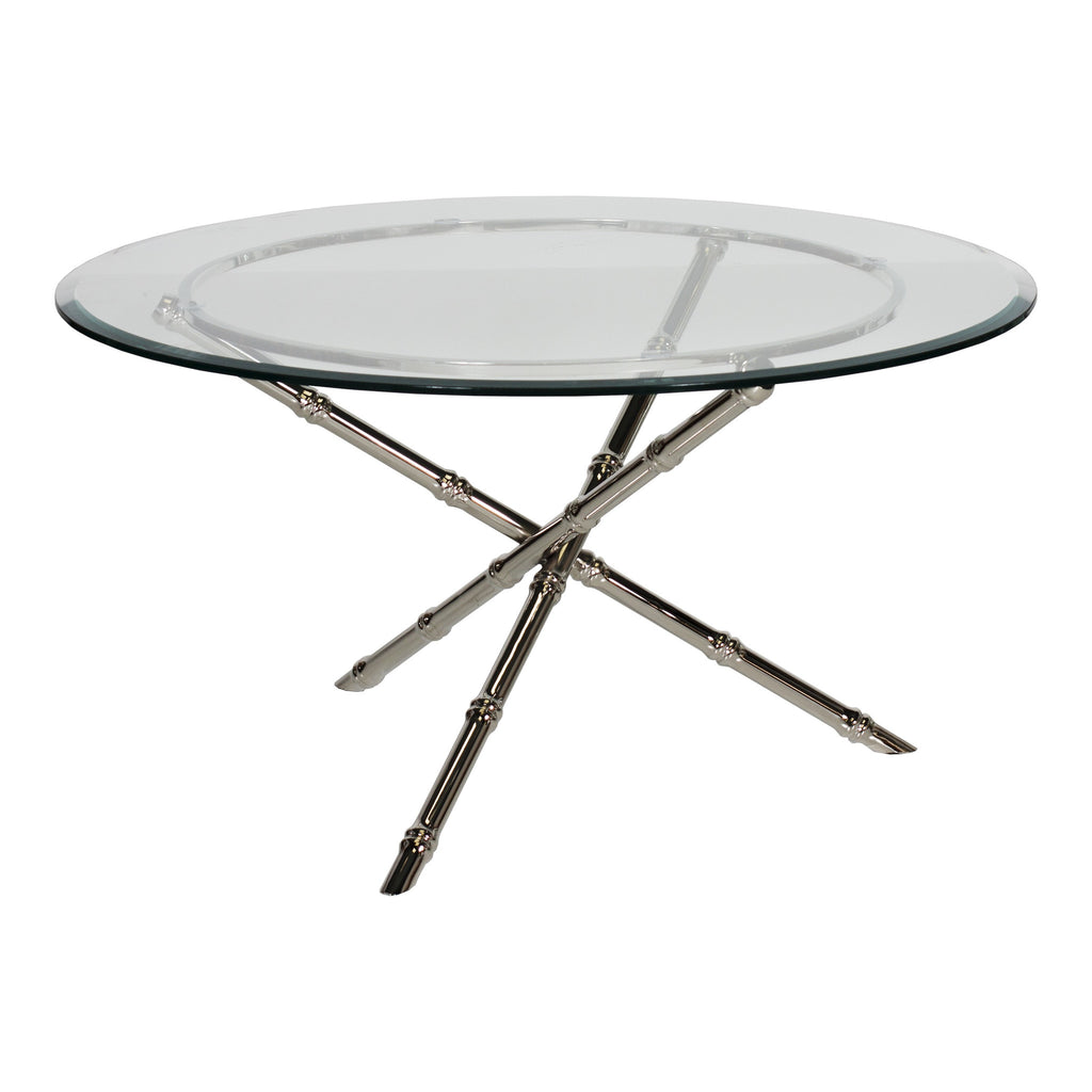 Avery Nickel Coffee Table