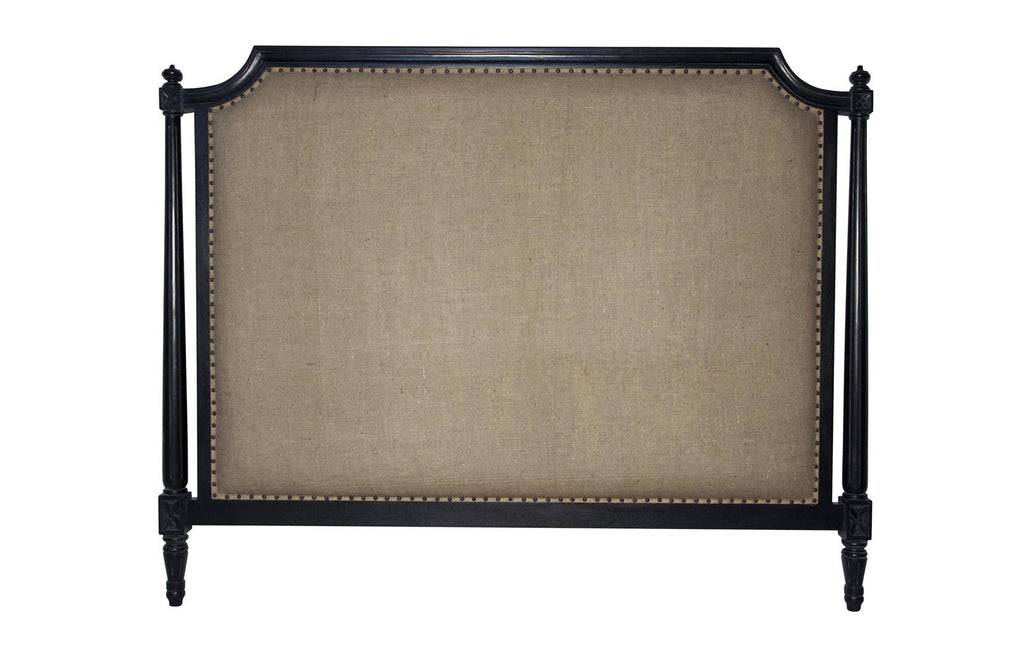 Isabelle Headboard, CA King, Hand Rubbed Black