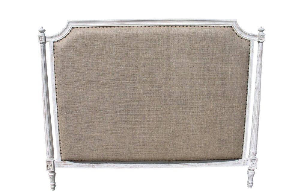 Isabelle Headboard, E-King, White Wash