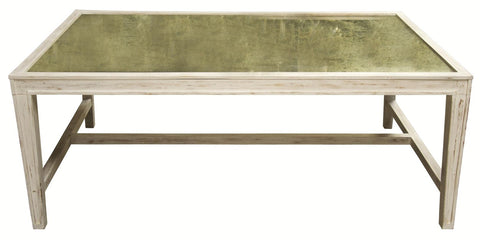 Imperial Coffee Table, White Wash