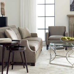 Argent Metal Coffee Table