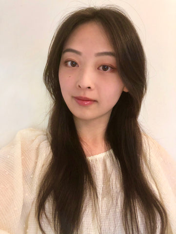 Eco Beige founder Camille Huang profile image. Women owned small business.