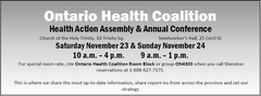 Health Action Assembly & Annual Conference