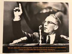 Tommy Douglas Poster 2 - pick up or shipped C.O.D.