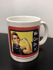Rosie Mug - pick up or shipped C.O.D.