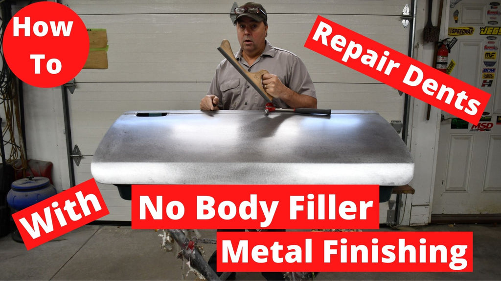 How To Auto Body Metal Finishing. Repair dents without Filler (Bondo)