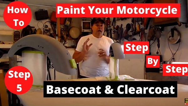 How To Paint Your Motorcycle Step By Step Applying Color Coat