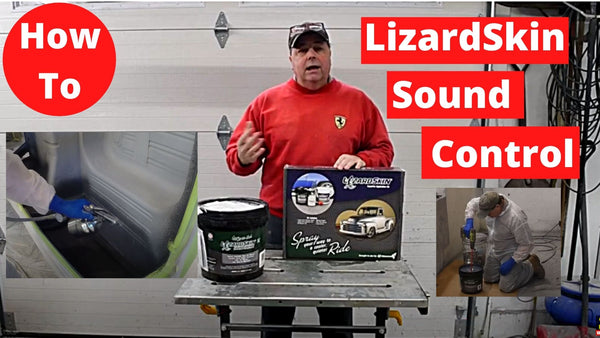 LizardSkin Sound Control Step By Step Insallation & Review Does LizardSkin work?