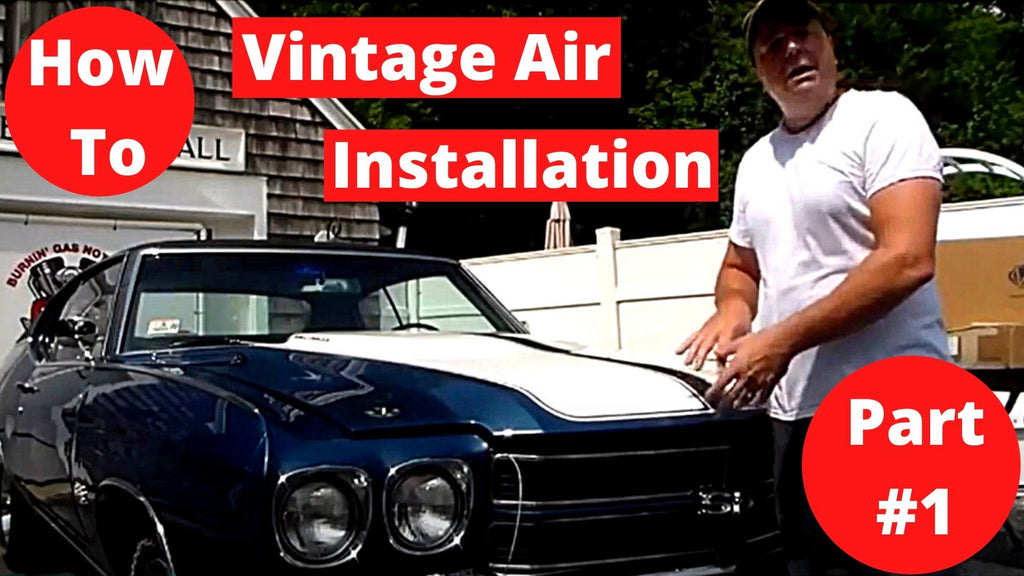 Vintage Air Installation 70 Chevelle SS 454 Part #1
