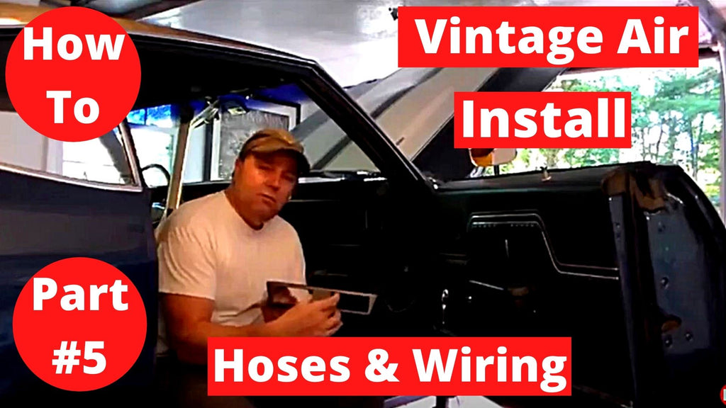 How To Vintage Air 70 Chelle SS 454 Part #5