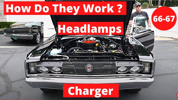 66-67 Dodge Charger How the Headlamps Work